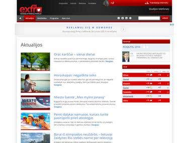 ExtraFM.lt - Radio Web Page (Wordpress & PHP)