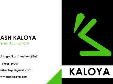 Kaloya visiting Card