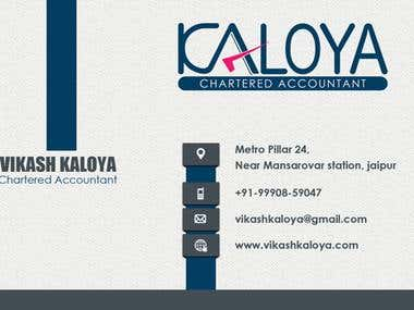 Kaloya Business Card