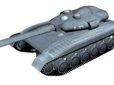Human heavy tank