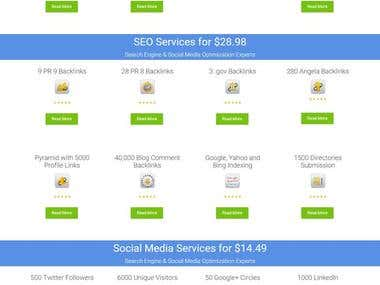 It's Website for SEO Service