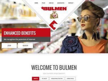 Design ,Develop and SEO main project For Bulmen