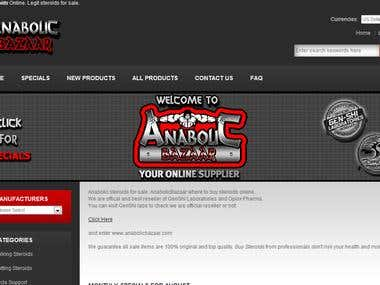 Seo for Anabolic Bazaar