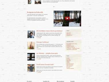 Wordpress Website developed fully