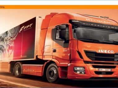 Truck Management Application - UI - User Interface