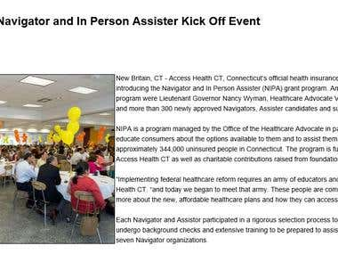 Access Health CT- Outreach Grant Program