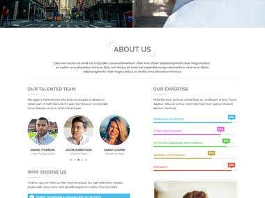 Metaphor - Photographer Wordpress Theme