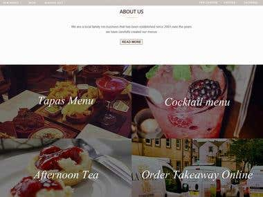LaVenue- Cafe Website