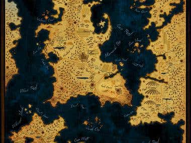 Artistic Cartography Old maps