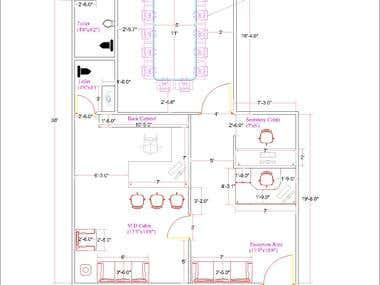 INTERIOR DESIGN LAYOUT