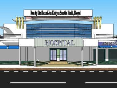 HOSPITAL ATTACHED WITH NURSING COLLEGE, SATNA, MP, INDIA