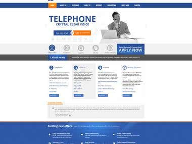 Wordpress theme design & development