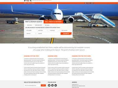 Website Design for Aviation Mart