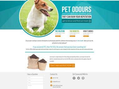 Website Design Petfill