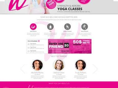 Website Design for Warwick Women's Workout