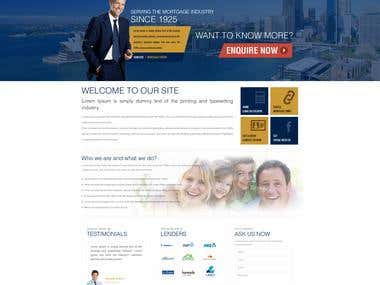 Website Design Smartline Personal Mortgage Advisors