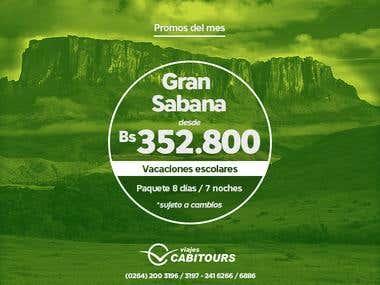 Viajes Cabitours - Social Media