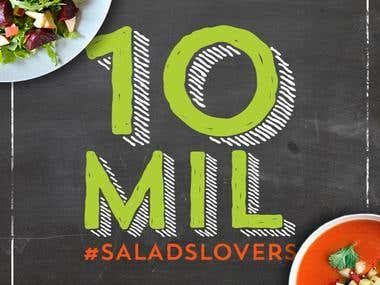 Salads Time - Social Media