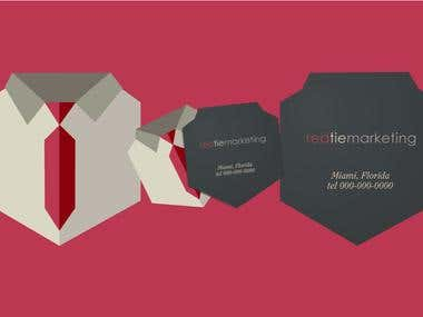 Red Tie Marketing Business Cards