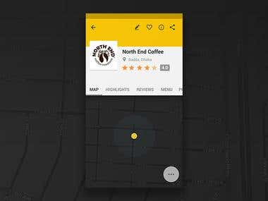 Coffee Finder app