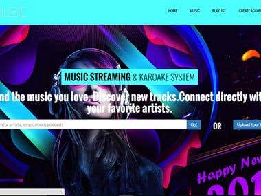 Music Streaming and Karaoke System with Lyric