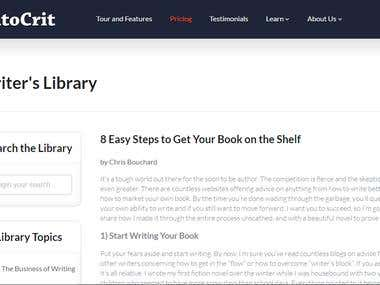 Blog Post- 8 Easy Steps to Get Your Book on the Shelf