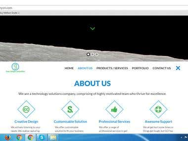Pesonal Company detail Display
