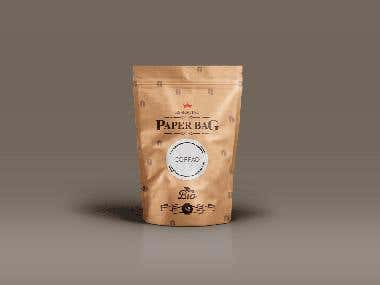 Verpackungsdesign Kaffee
