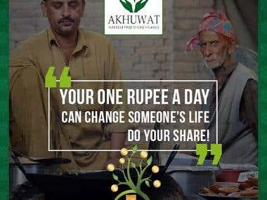 Social Media Compaigns - Akhuwat