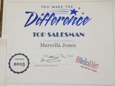 Salesman Award