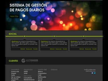 My Company's website. w3bex.com
