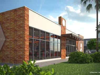 Fast-food restaurant project