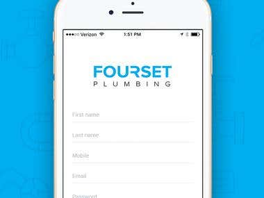 Fourset - Mobile App