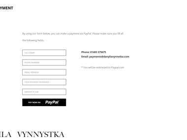 Danyila PSD to wordpress.