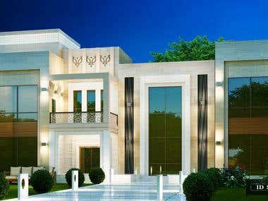 Exterior Facade, Sheikh Majid