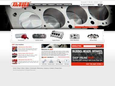 Magento eCommerce (Dart Machinery)