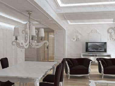 Modern Baroque Apartment Design