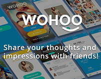Mobile app - Wohoo