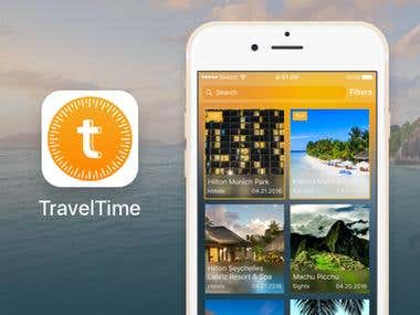 Mobile App - TravelTime
