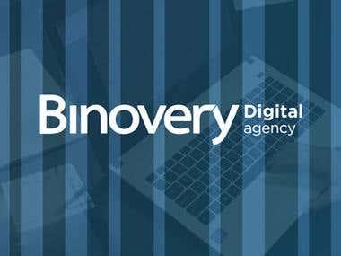 Landing page - Binovery