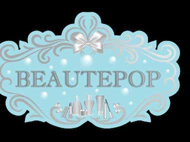 Logo for beautypop
