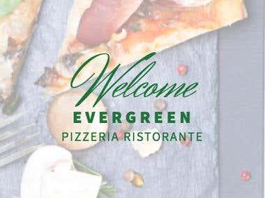 Mobile app - Pizzeria Ristorante Evergreen