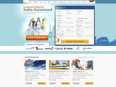 Full featured Travel portal