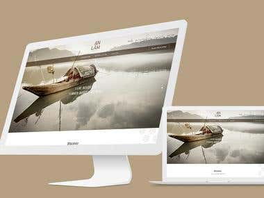 "Design website ""An Lam Saigon"""