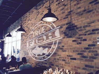 Winning Entry : Design a Logo for Restaurant - True Fish Gri