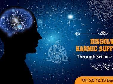Winning Entry : Face Book Ad Design for A Spiritual Seminar