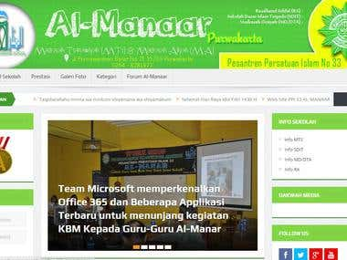 ppi33almanaar.com (School Profile)