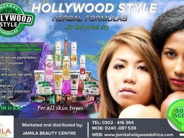 Billboard Design for Cosmetics product