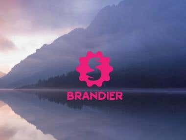 Minimalist logo design idea for a creative company