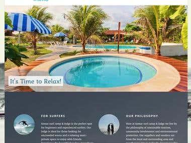 Somar Lodge Website